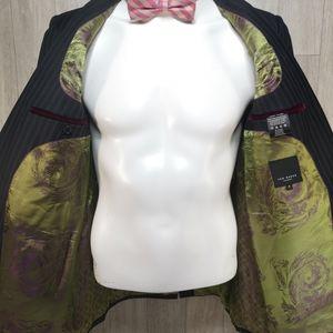Ted Baker pinstripe suit jacket size 3